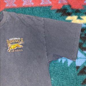 Heavily Worn vintage Cinci Bengals Tee 🐯🏈